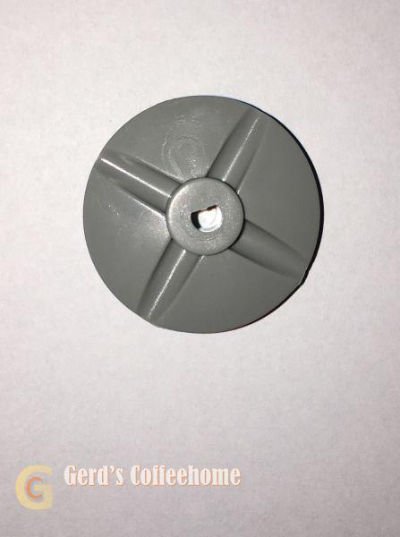 Mixerscheibe Grau Einseitig Gestanzt