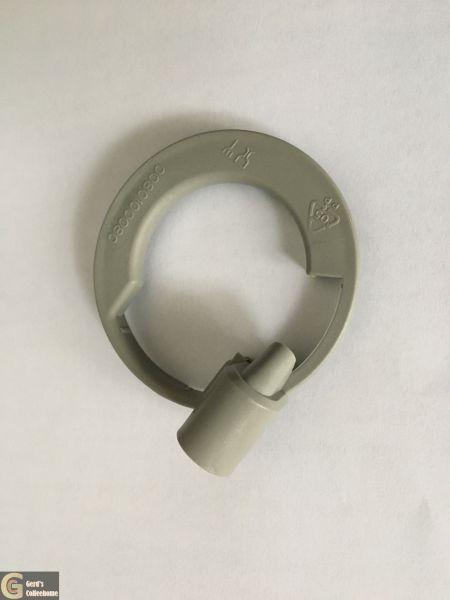 Dampfdeckel Grau Zulauf 2,5 mm