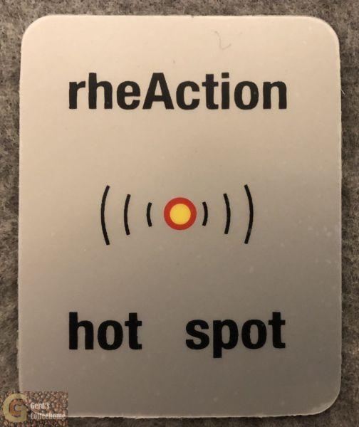 Etikette Hot Spot
