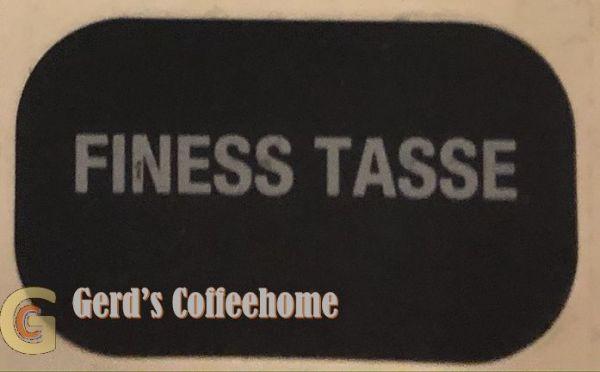 Produktetikette Finess Tasses