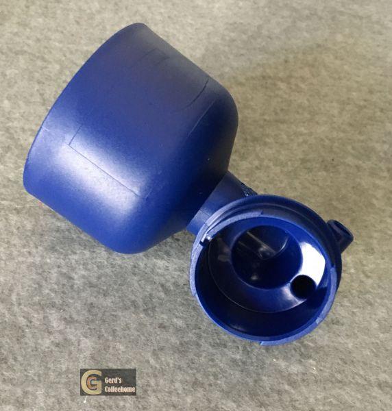Mischschale Blau ohne Zulauf mit Steg
