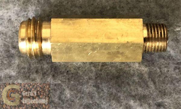 Brühereinlassstück XM/XL PB