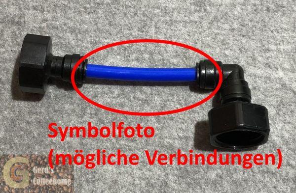 John Guest - Polyethylen-Rohr 8 mm blau - Meterware