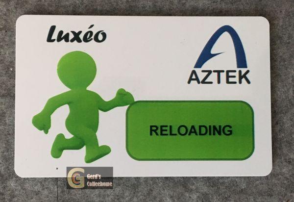 AZTEK Luxeo Aufladekarte