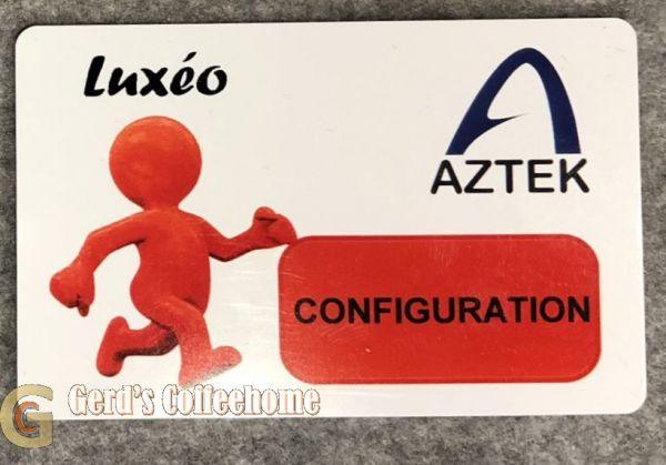 AZTEK Luxeo Configuration-Card