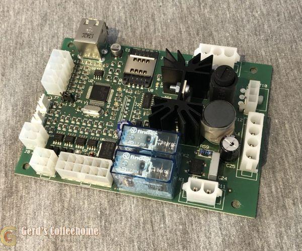 SCH0007605 SCH0007600 Rheavendors Servomat Steigler Mahlwerkplatine XS Grande PB Ersatzteil